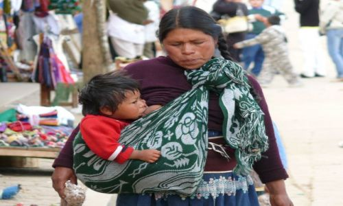 Zdjecie MEKSYK / San Cristobal de da Casas / Chamula / matka