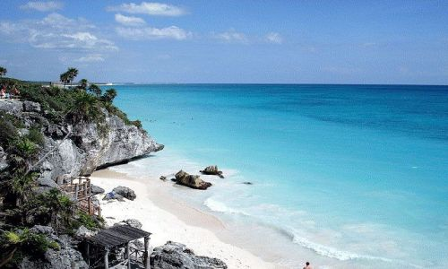 Zdjecie MEKSYK / Riwiera Maya / TULUM / Tulum plaża