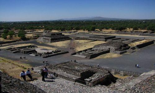 Zdjęcie MEKSYK / Ciudad de Mexico / Teotihuacan / Droga Zmarłych