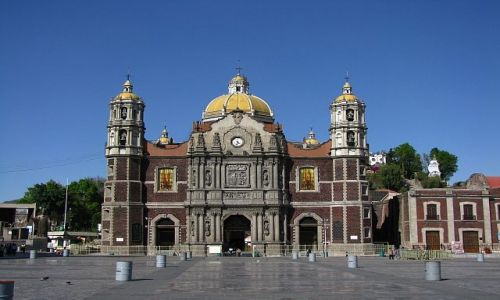 Zdjęcie MEKSYK / Ciudad de Mexico / Ciudad de Mexico / Sanktuarium Matki Boskiej z Gwadelupy