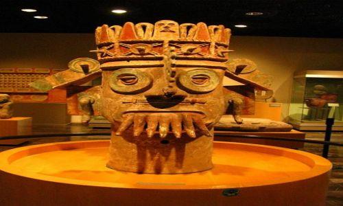 MEKSYK / Ciudad de Mexico / Muzeum Antropologiczne / Tlaloc