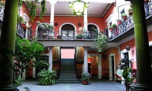 Zdjecie MEKSYK / . / Puebla / Patio