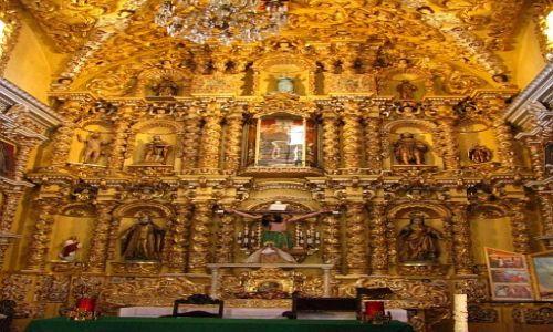 Zdjęcie MEKSYK / Puebla / Acatepec / Indiański kościółek