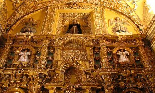 MEKSYK / Puebla / Acatepec / Indiański kościółek