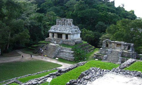 Zdjęcie MEKSYK / . / Palenque / Świątynia Słońca
