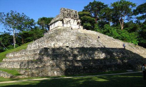 MEKSYK / . / Palenque / Świątynia  Krzyża