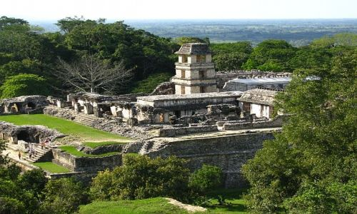 Zdjęcie MEKSYK / . / Palenque / Pałac Pakala