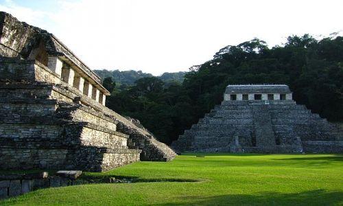 Zdjęcie MEKSYK / . / Palenque / Świątynia Inskrypcji