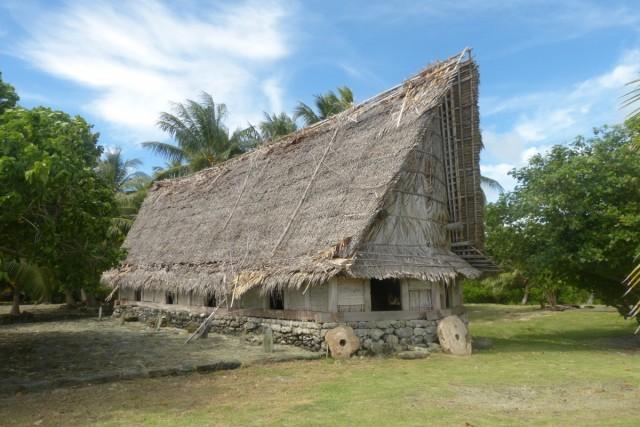 Zdjęcia: Balabat, Yap, Dom starszyzny, MIKRONEZJA
