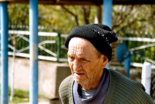 Zdjęcia: Trebujeni, Mieszkaniec Trebujeni , MOłDAWIA