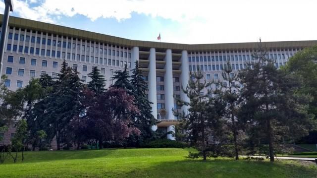 Zdjęcia: Kiszyniów, Parlament, MOłDAWIA