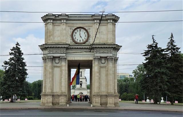 Zdjęcia: ., Kiszyniów, Łuk Tryumfalny, MOłDAWIA
