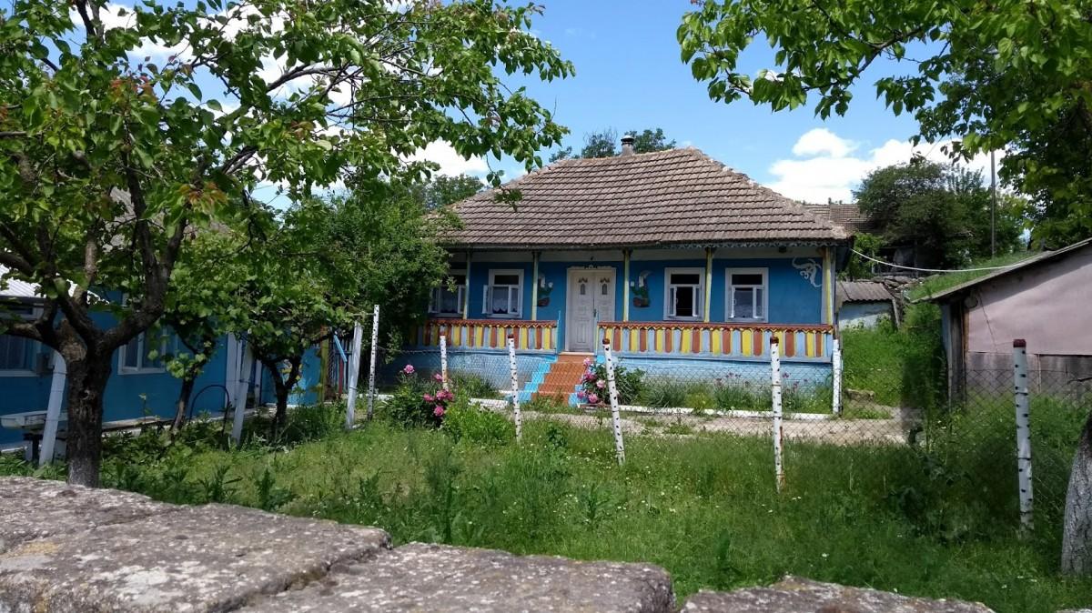 Zdjęcia: Trebujeni, mołdawski dom, MOłDAWIA