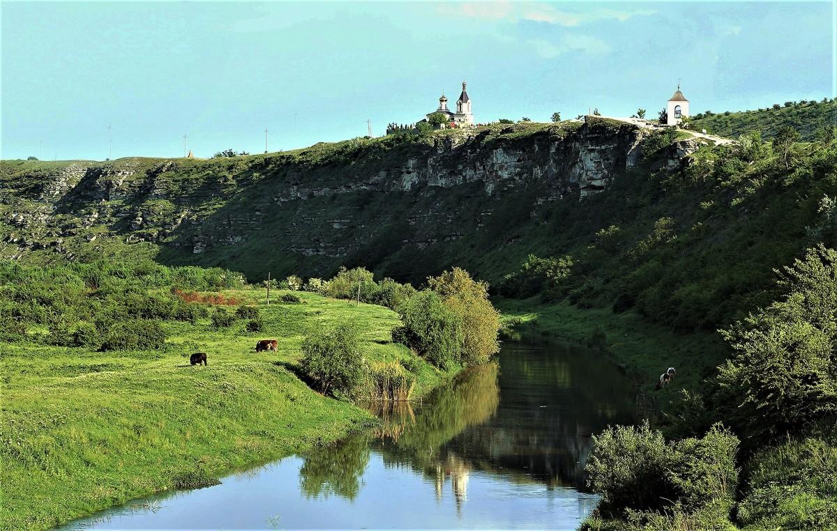 Zdjęcia: ., Orheiul Vechi , Nad rzeką Reut, MOłDAWIA