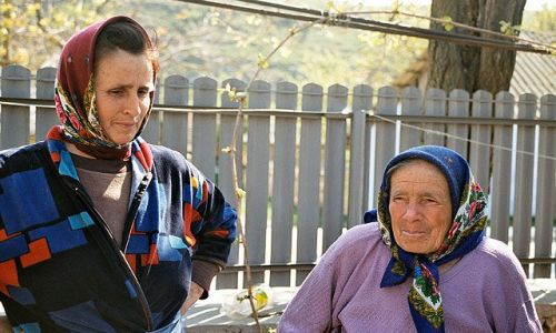 MOłDAWIA / brak / Trebujeni / Mołdawskie kobiety