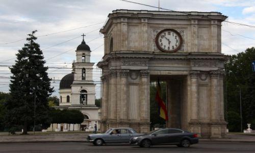 Zdjęcie MOłDAWIA / Centrum / Kiszyniów / Symbole Stolicy