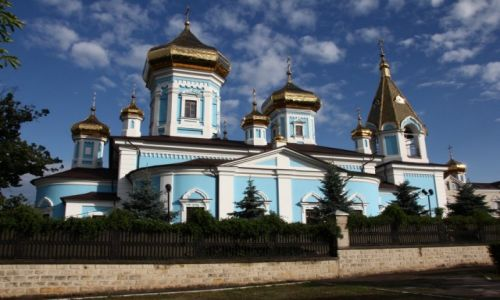 MOłDAWIA / Centrum / Kiszyniów / Cerkiew Św. Tirona