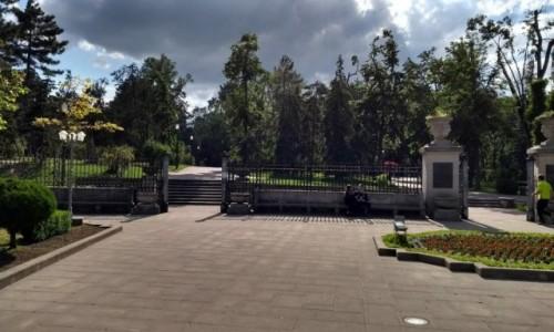 Zdjęcie MOłDAWIA / - / Kiszyniow / Park w  Kiszyniowie