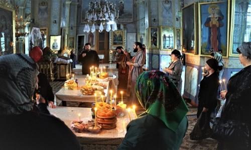 MOłDAWIA / Gagauzja / Komrat, Katedra Św. Jana Chrzciciela / Nabożeństwo