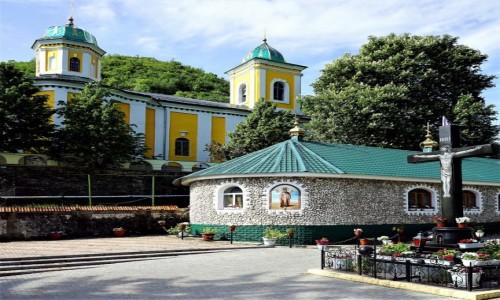MOłDAWIA / Rezina / Zespół klasztorny Saharna / Świątynie