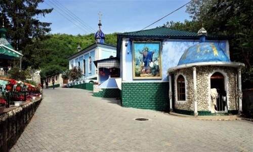 Zdjęcie MOłDAWIA / Rezina / Saharna / Klasztor
