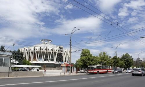 Zdjęcie MOłDAWIA / - / Kiszyniów / Budynek cyrku
