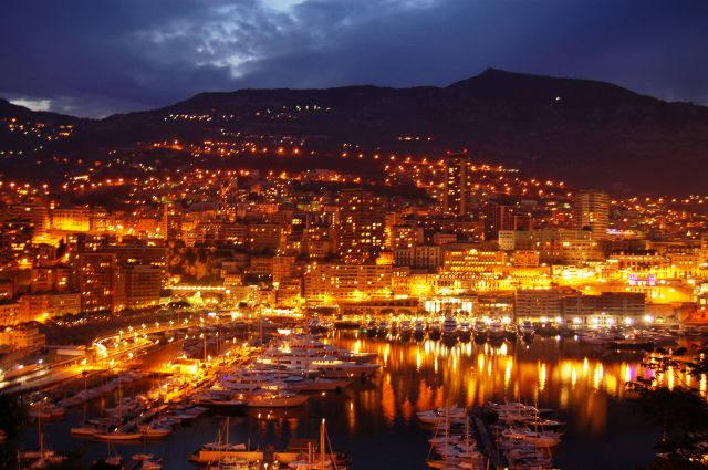 Zdjęcia: Monako, Panorama Monako, MONAKO