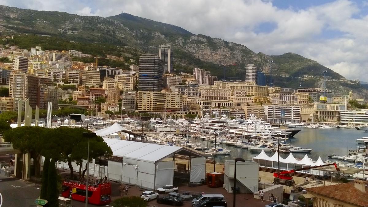 Zdjęcia: Monaco, Lazurowe Wybrzeże, Port w Monaco, MONAKO