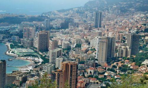 MONAKO / Monako / Monako / Wieżowce Monako