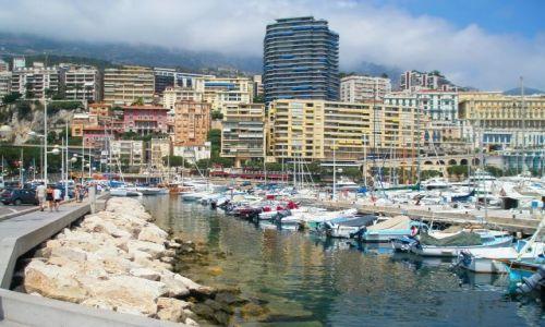 MONAKO / Monako / Monako / Nabrzeże jachtowe