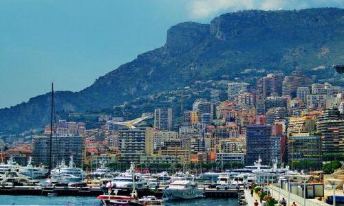 Zdjęcie MONAKO / Monako / Monako / Państwo na zboczu