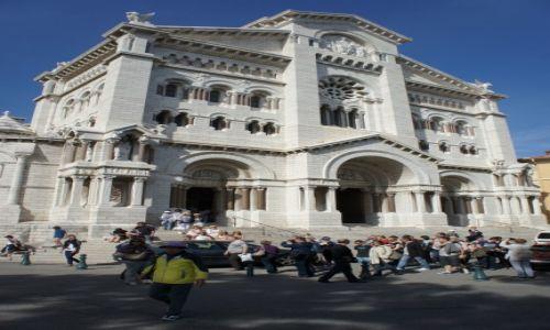 Zdjęcie MONAKO / Monako / Monte Carlo / Katedra w Monte Carlo