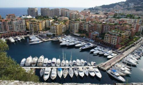 Zdjęcie MONAKO / Księstwo Monako / Księstwo Monako / Marina w Monako