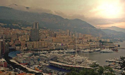 Zdjecie MONAKO / Księstwo Monako / niewielkie państwo położone w Europie Południowej nad Morzem Śródziemnym  / ...