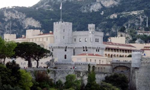 Zdjecie MONAKO / Monte Carlo / Pałac Książęcy / W cieniu gór