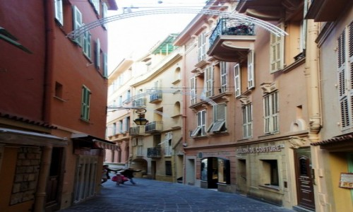 Zdjecie MONAKO / Monte Carlo / Centrum / Uliczka