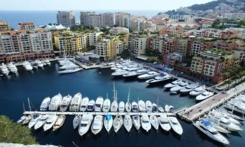 Zdjęcie MONAKO / Monte Carlo / Pałac Książęcy / Zatoczka
