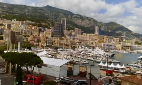 Zdjecie MONAKO / Lazurowe Wybrzeże / Monaco / Port w Monaco