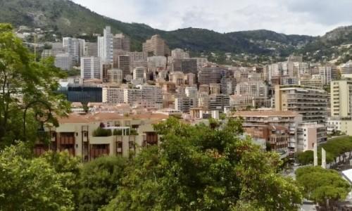 MONAKO / Lazurowe Wybrzeże / Monaco / Niech się mury pną do góry...