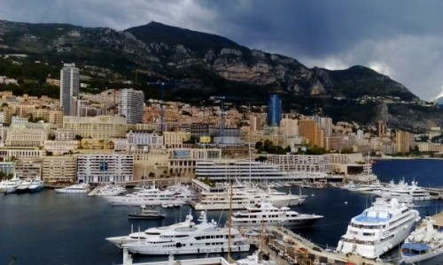 MONAKO / Lazurowe Wybrzeże / Monaco / Panorama Monaco