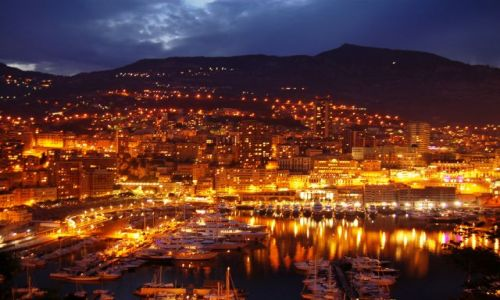 Zdjecie MONAKO / brak / Monako / Panorama Monako