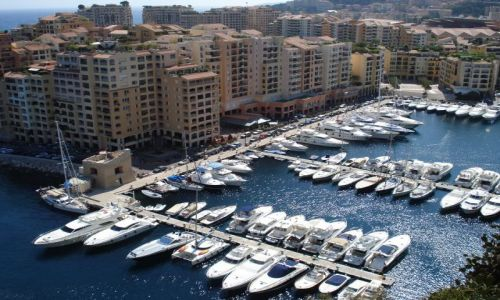 MONAKO / Monako / Monako / Port de Fontvieille