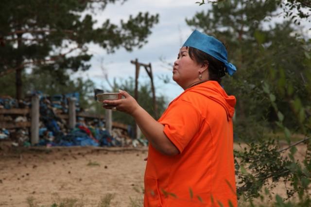 Zdjęcia: Droga do Ułan Bator, Suche Bator, Szamanka, MONGOLIA