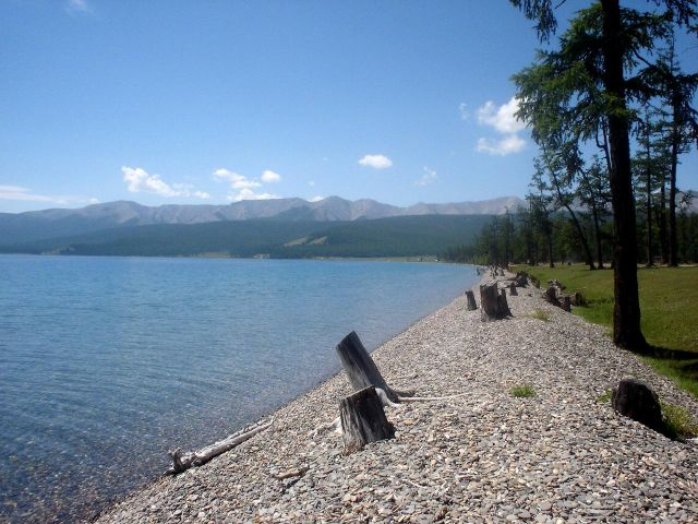 Zdjęcia: Jezioro Chubsugul, czyste Chubsugul, MONGOLIA