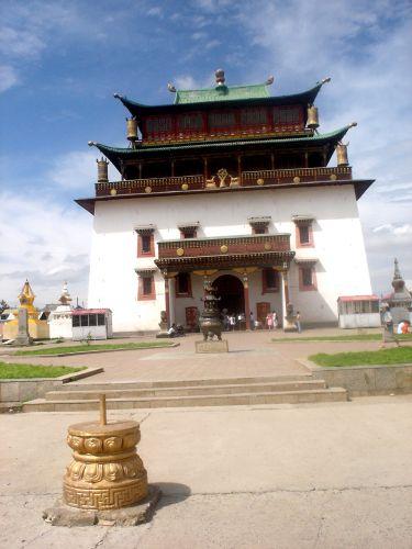 Zdjęcia: Ulan Bator klasztor, światynia, MONGOLIA