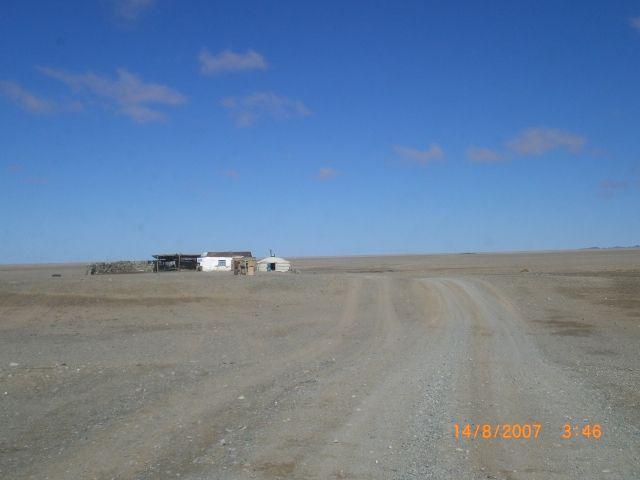 Zdjęcia: Bayankhnongor, bistro po drodze, MONGOLIA