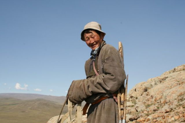 Zdj�cia: Tsagaan Nuul, pasterz, MONGOLIA