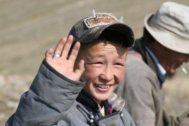 Zdjęcia: Tsagaan Nuul, mały pasterz, MONGOLIA