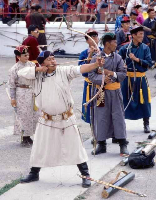 Zdjęcia: Ulaanbaatar, Töv aimag, Łucznik, MONGOLIA
