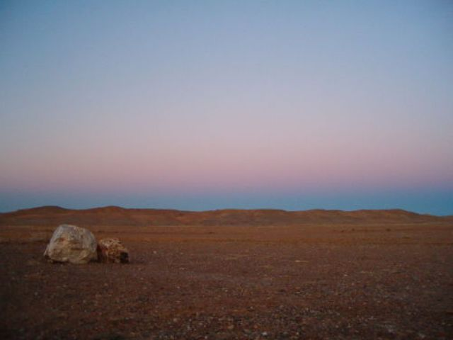 Zdjęcia: Pustynia Gobi, Zmierzch, MONGOLIA